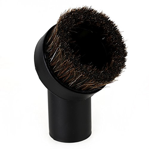bstinay Black Inner Diameter 32mm Horse Hair Round Dust Brush Tool Replace for Vacuum Cleaner