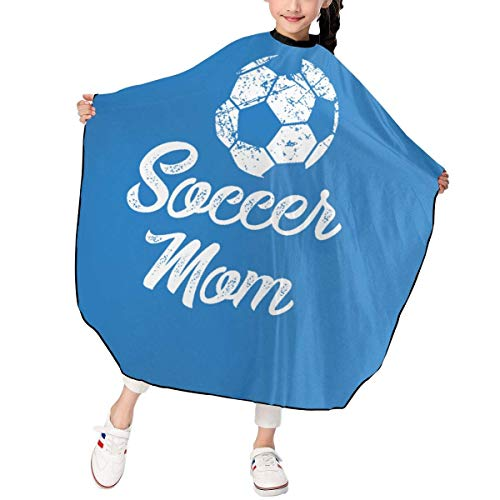 Children Kids Haircut Barber Cape Cover For Hair Cutting Soccer
