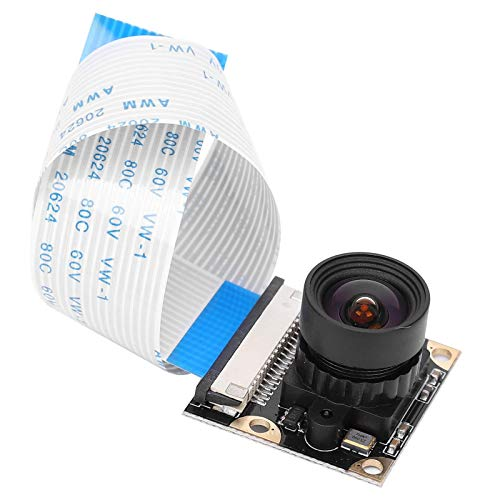 MUKUAI20 Camera Module Pi 4 3B + 5 Camera Module for Million Night View Focal Length Adjustable to 100 ° DIY