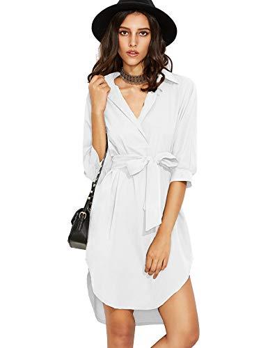 Dames strandjurk zomerjurk chiffon bikini cover up jurk blouse