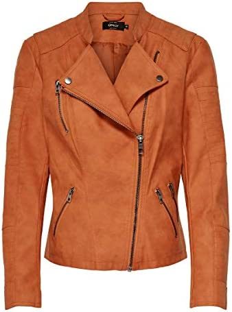 Only giacca giubotto per  donna faux leather jacket