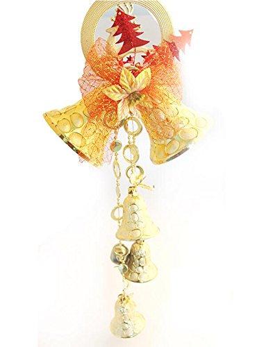 Campane Di Natale Ornamenti 60 Centimetri Stringa Di Grandi Dimensioni Decorazioni Di Natale Campana Decorazione Di Natale,Gold