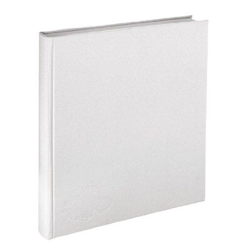 Hama Hochzeitsalbum Venezia (29 x 32 cm, 250 Bilder, 50 weiße Seiten, 25 Blatt) weiß