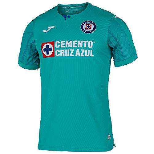 JOMA 3ª Camiseta Cruz Azul M/C, M, Verde Turquesa