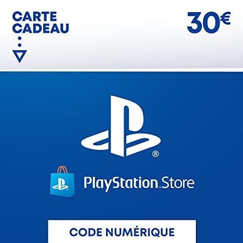 Sony PlayStation Store, Fonds pour porte-monnaie virtuel, Valeur 30 EUR, Code à télécharger, Compte français