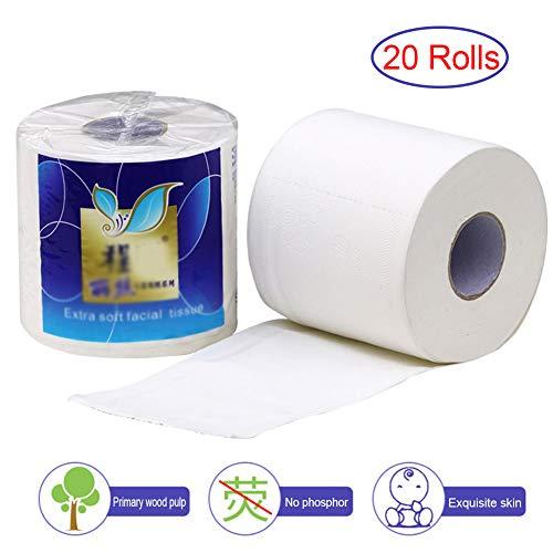 GXSY888 Toiletpapier Bulk 4Ply, 20 Rollen Holle Vervangende Roll Papier Toiletpapier Tafel Keukenpapier Toilet Papier Bulk kopen, Pack papieren Handdoeken, Toilet Weefsel