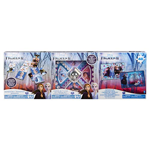 Spin Master - Frozen 2 - 6053006 - Spiele-Puzzle-Sammlung (3er-Pack)