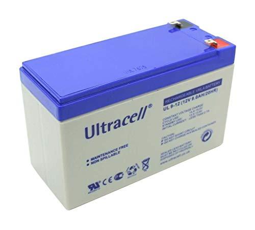 Gopacks Original Ultracell Bleigelakku UL9-12 Batterie für Scooter Photovoltaik Solarenergie Solar Windrad Windgenerator Windturbine Windenergie 12V