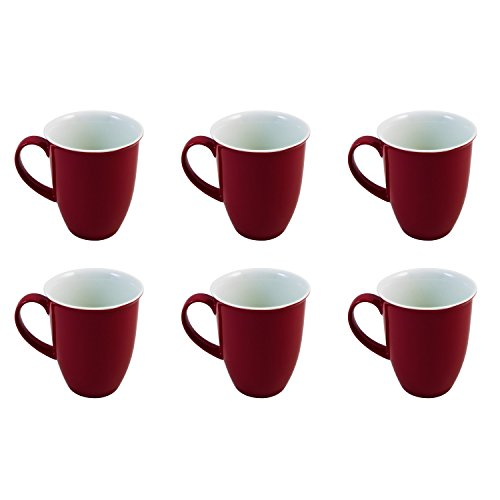 Flirt by Ritzenhoff & Breker Doppio Rot Kaffeebecher-Set 6tlg.