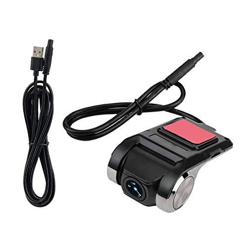 Baverta DVR per Auto - Videocamera da cruscotto per Auto Mini Smart Telecamera da cruscotto per videoregistratore per Auto HD 1080P