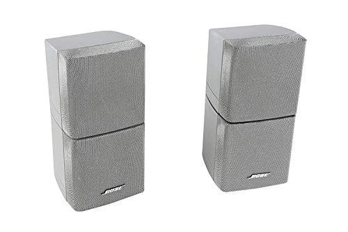 2X Bose Acoustimass Series III Doppelcubes Lautsprecher Silber