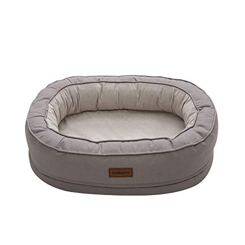 Eortzxk Sleep Well Lounger' Dog Bed, Deluxe Soft Washable Dog Pet Warm Basket Bed Cushion, Machine Washable Waterproof Liner Premium Zippers, Suitable for Small Medium Dogs or Cats