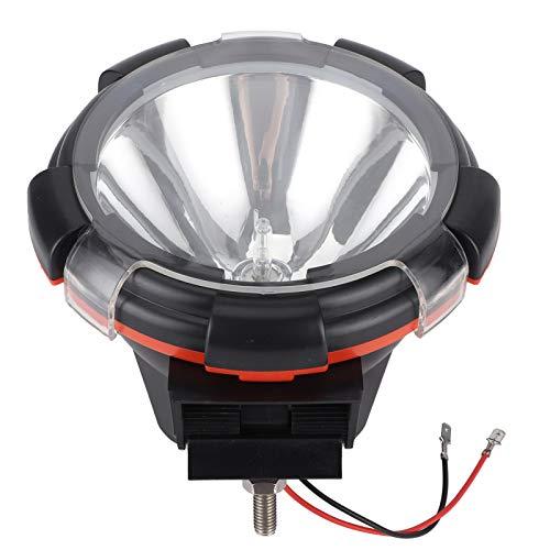 Faros Delanteros LED para Coche, 12V 150W 9in Faros xenón HID Focos universales ABS para MTB SUV Vehículo Todo Terreno automotriz IP67 a Prueba de Agua