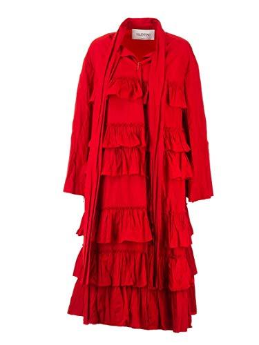 Valentino Luxury Fashion Damen SB3CA3M54NW157 Rot Kleid | Herbst Winter 19