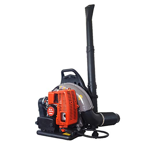 Review QUANOVO Gas Two-Stroke Backpack Leaf Blower Industrial Snow Blowers Light Weight High Perform...