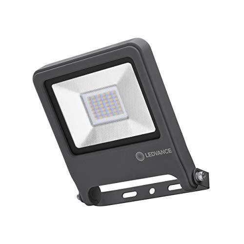 LEDVANCE LED Fluter, Leuchte für Außenanwendungen, Warmweiß, 163,0 mm x 186,0 mm x 34,0 mm, ENDURA FLOOD