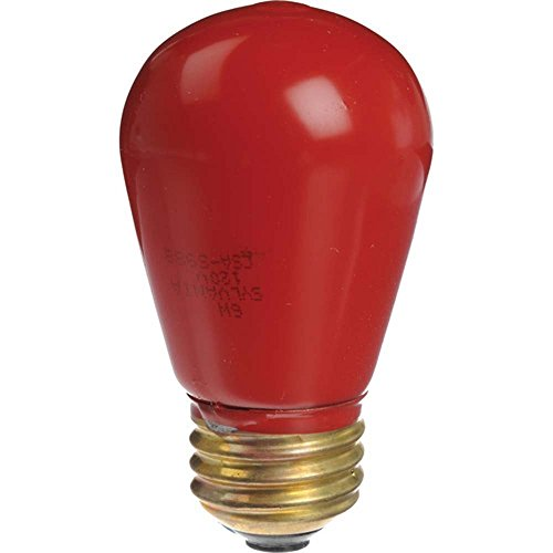 CPM Delta 1 3511112 35110 Brightlab Junior Safelight 11W Universal Red Bulb