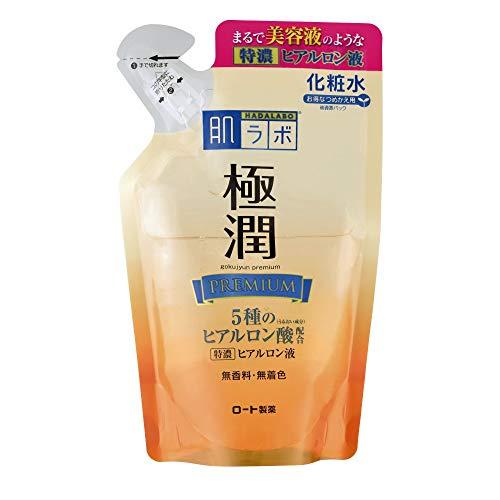 肌ラボ 極潤プレミアム 特濃ヒアルロン液 ヒアルロン酸5種類×サクラン配合 詰替用 170mL