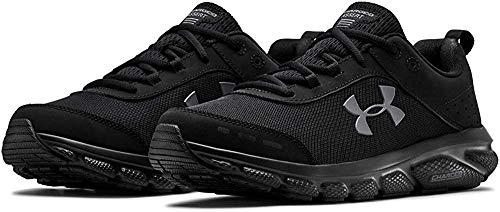 Under Armour Charged Assert 8 Chaussures de Course pour Homme - Noir - Noir, 46 EU