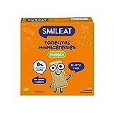 Smileat - Panecitos Multicereales Ecológicos, Ingredientes Naturales, Snacks y Meriendas, Para Bebés a Partir de los 6 Meses