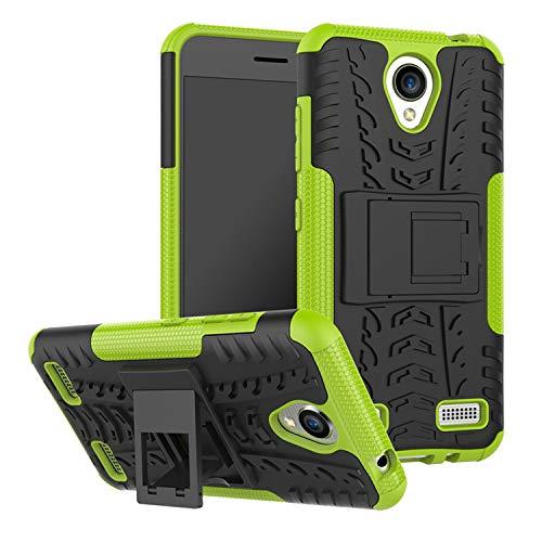 betterfon   Funda híbrida para teléfono móvil para ZTE Blade A520, color verde