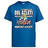 Diver Bebé Camiseta ya Tenemos Otro del Atleti más en la Familia - Azul Royal, 9-11 años
