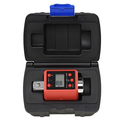 NEIKO 20743A Adaptador de Torque Digital de 1,9 cm   150-750 metros   Configuração de Torque de Sinais de Alerta Auditivos   Calibrar Chave de Torque Digital e Analógica