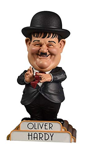 BIG Chief Studios Laurel and Hardy Bobble-Head Oliver Hardy in Suit 20 cm Heads