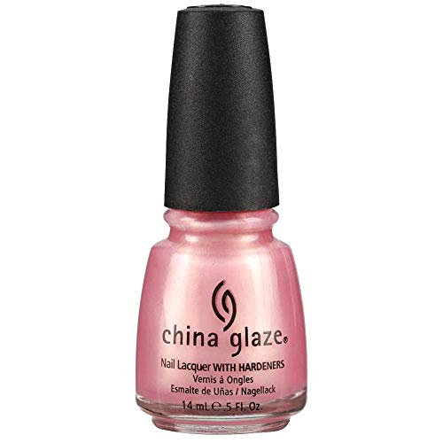 China Glaze Nail Lacquer with Hardner - Pearly Effect - Exceptionally Gifted, 1er Pack (1 x 14 ml)