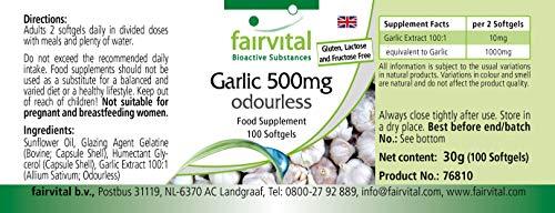 Knoblauch geruchlos 500mg 100 Softgels - 3