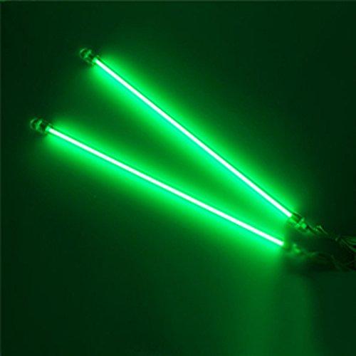 Preisvergleich Produktbild Supmico 30cm KFZ Unterboden Innenbeleuchtung Fußraumbeleuchtung Neonröhren Licht Kaltkathoden Grün Lampe