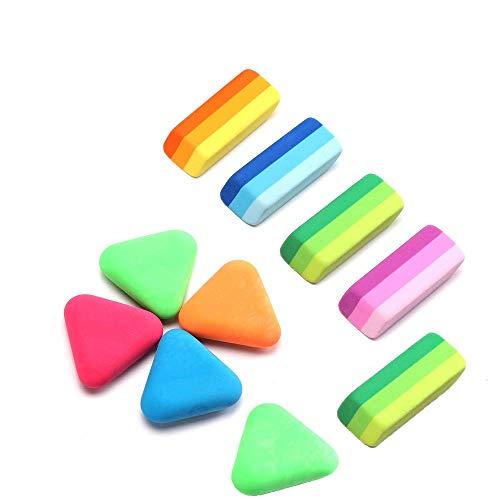 Eraser | Pencil Eraser | Color Eraser | 20 Pack Eraser For Kids | Sketching Pencil Eraser | Bulk Eraser | Suitable For Children, School, Family, Office and Art Painting Class (10)