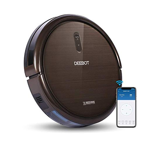 ECOVACS DEEBOT N79S Robot Vacuum Cleaner with Max Power Suction, Works with Alexa, App Controls, Self-Charging, Quiet, for Hard Floors & Carpets