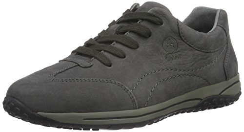 Gabor Shoes 56.385 Damen Sneakers, Grau (anthrazit 30), 43 EU (9 Damen UK)