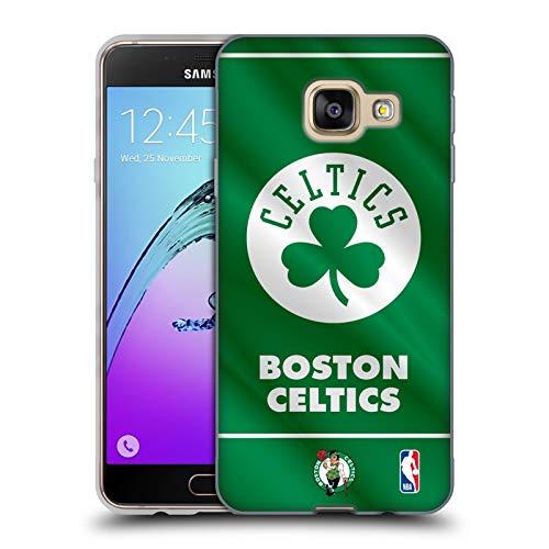 Head Case Designs Ufficiale NBA Banner 2019/20 Boston Celtics Cover in Morbido Gel Compatibile con Samsung Galaxy A3 (2016)