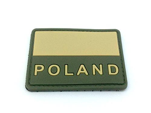 Polonia bandera PVC Airsoft Patch