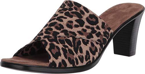 ONEX Mujer Sandalias Crista, Multi (Leopard), 36 EU