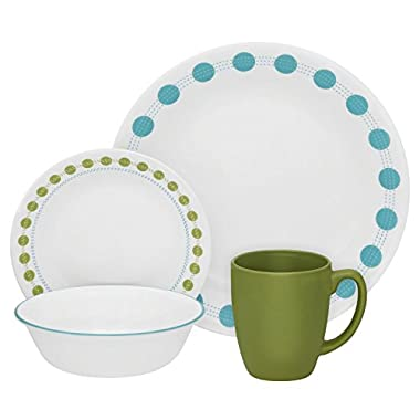 Corelle Livingware 32-Piece Dinnerware Set, South Beach, Service for 8 (Two 16-Piece Sets)