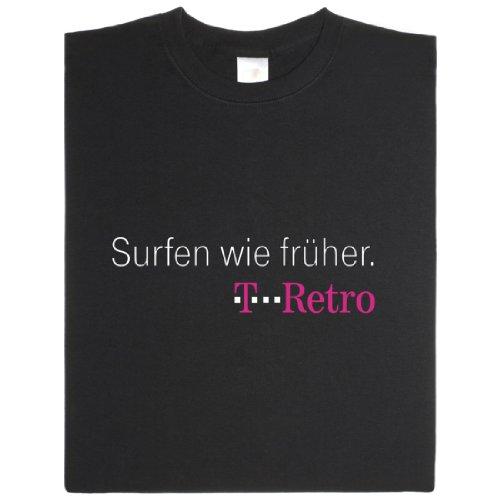 T-Retro - Geek Shirt für Computerfreaks aus fair gehandelter Bio-Baumwolle, Größe XL