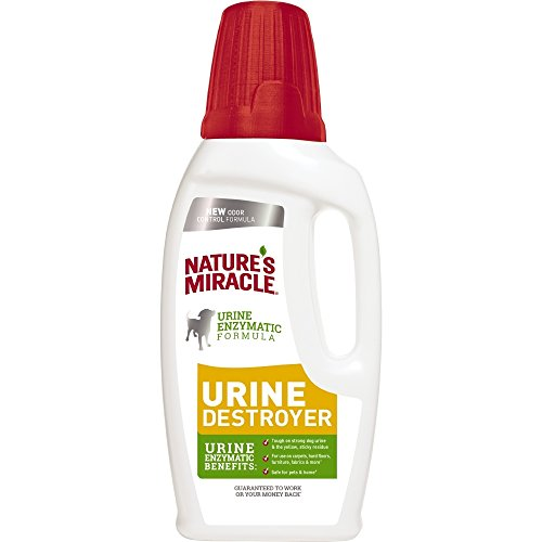 Nature's Miracle Dog Urine Destroyer for Dogs, Urine Enzymatic Formula, Pour, 32 oz (P-96999)