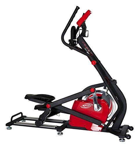 Hammer Sports AG Finnlo E-Glide Cyclette Ellittica, Rosso