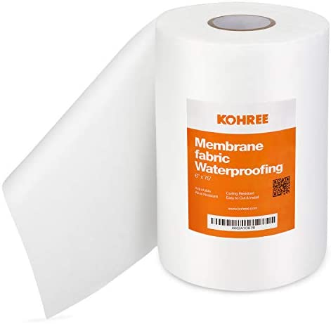 Kohree Waterproofing Membrane Fabric 6 Inch X 75 Foot Roll Anti Fracture Membrane Fabric Non product image