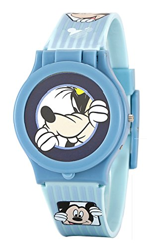 Disney Mickey Mouse Reloj Niños Cabeza intercambiable Azul Digital