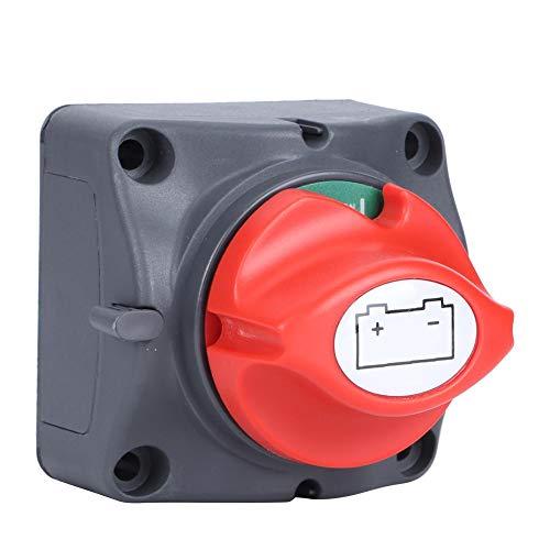 Verano encantador Interruptor de desconexión de batería, nailon retardante de llama + interruptor de fabricación de precisión de núcleo de cobre de 12v, para grandes interruptores eléctricos ya