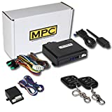 MPC 4-Button Remote Start Keyless Entry Kit for 2000-2001 Ford F-250 Super Duty - Firmware Preloaded
