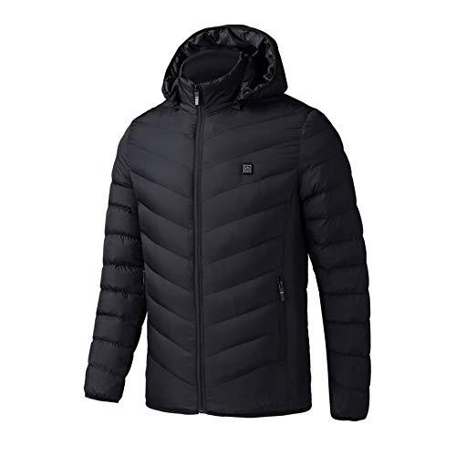 Elektrisch verwarmd Man jas vest Vrouwen Mantel veren thermische softshell jas