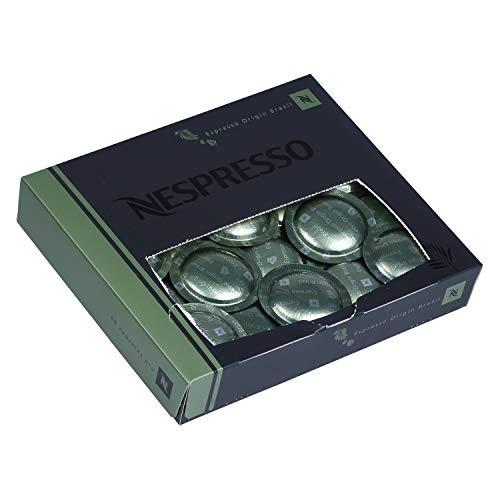 50 Nespresso Espresso Origin Brazil Coffee Cartridges Pro NEW (2 boxes - 100 capsules)