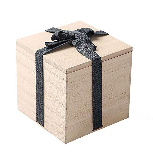 Massief houten crematie as harde kist biologisch afbreekbare kist gedenkteken crematie as as voor huisdier as om onze meest geliefde vrienden te herdenken,4in