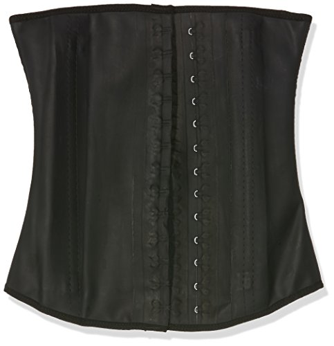 Ann Chery Women's Faja Clasica Workout Waist Cincher, Black, Medium/34