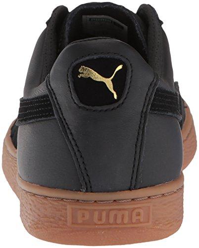 Puma Classic Gum Deluxe Basket pour Homme Noir - - Puma Blanc, 39 EU